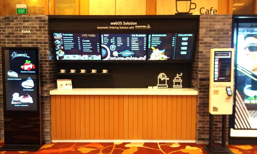 EvaSign Pro – Digital Menu Board Solution